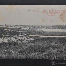 Postales: ANTIGUA POSTAL A.T.V.-2524 DE PUERTO CRISTO (MANACOR). MALLORCA. VISTA GENERAL. SIN CIRCULAR. Lote 43354833