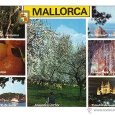 Postales: MALLORCA. DIFERENTES VISTAS. POSTALES, Y MUCHO MÁS, EN RASTRILLO PORTOBELLO. Lote 43391131