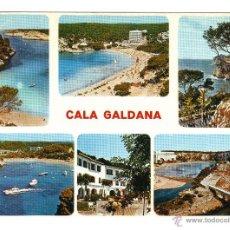 Postales: MENORCA. DIFERENTES VISTAS CALA GALDANA. POSTALES, Y MUCHO MÁS, EN RASTRILLO PORTOBELLO. Lote 43391152