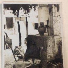 Postales: MALLORCA. CAMPESINA. HILANDERA. (POSTAL FOTOGRÁFICA, TRUYOL). Lote 43433513