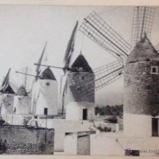 Postales: MALLORCA. MOLINOS DE VIENTO. INCA. (POSTAL FOTOGRÁFICA, TRUYOL). Lote 43433565
