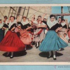 Postales: POSTAL MALLORCA DANZAS MALLORQUINAS NO CIRCULADA . Lote 43542006