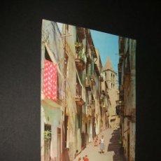 Postales: PALMA DE MALLORCA CALLE PALMESANA BARRIO DE SANTA CRUZ. Lote 43553404