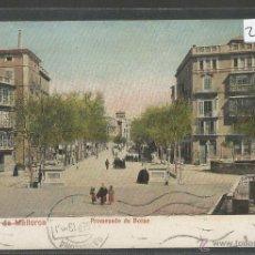 Postales: PALMA DE MALLORCA - PROMENADE DU BORNE - (23198). Lote 43697120