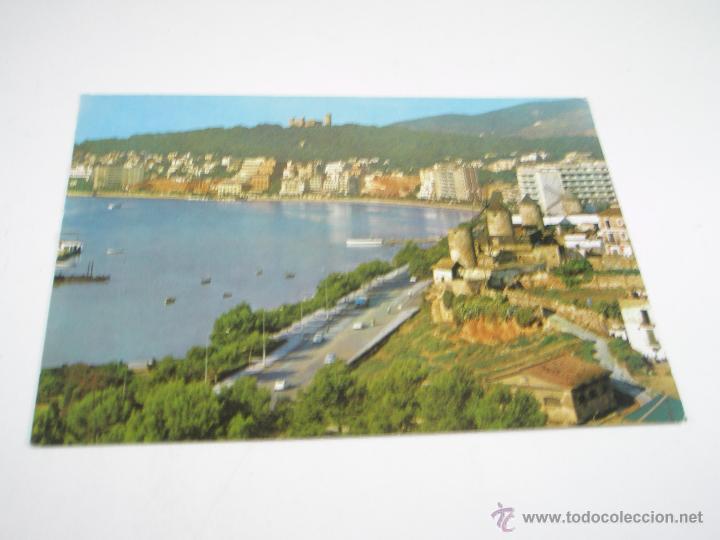 Postales: ANTIGUA POSTAL-ESPAÑA-PALMA MALLORCA-CASTILLO DE BELLVER Y PASEO-CIRCULADA-1955 - Foto 3 - 43718779