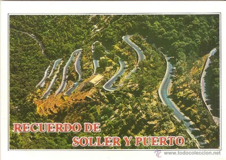SOLLER (MALLORCA), CARRETERA DEL COLL, VISTA AÉREA - EDICIONES PALMA Mº 2603 - SIN CIRCULAR (Postales - España - Baleares Moderna (desde 1.940))