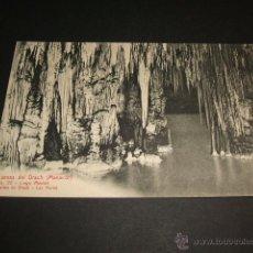 Postales: MANACOR MALLORCA CUEVAS DEL DRACH LAGO MARIEL. Lote 43819610