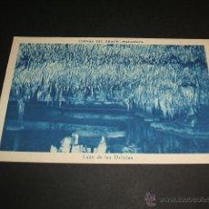 Postales: MANACOR MALLORCA CUEVAS DEL DRACH LAGO DE LAS DELICIAS. Lote 43819665