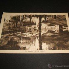 Postales: MANACOR MALLORCA CUEVAS DEL DRACH LAGO MARTEL VISTA PARCIAL. Lote 43819693