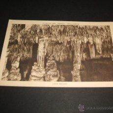 Postales: MANACOR MALLORCA CUEVAS DEL DRACH LAGO NEGRO. Lote 43819802