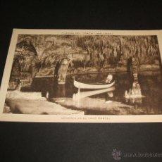 Postales: MANACOR MALLORCA CUEVAS DEL DRACH GONDOLA EN EL LAGO MARTEL. Lote 43819810