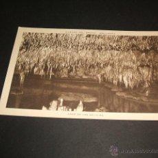 Postales: MANACOR MALLORCA CUEVAS DEL DRACH LAGO DE LAS DELICIAS. Lote 43819966