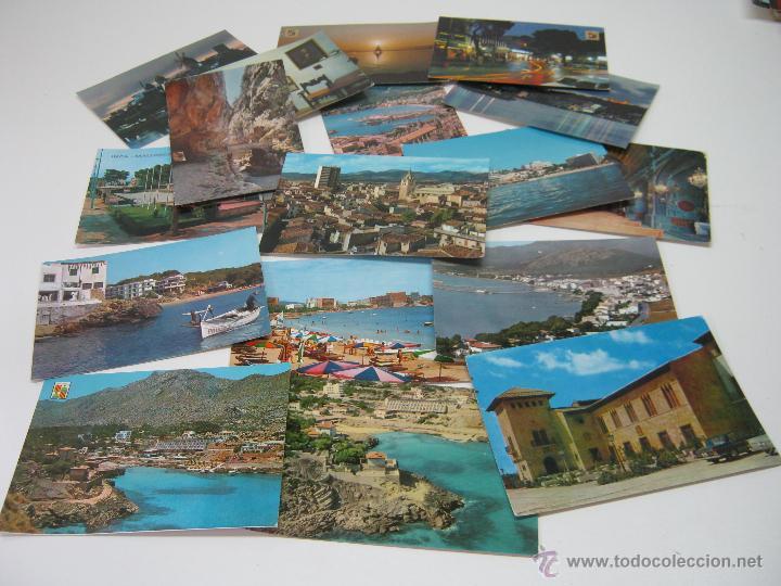 LOTE 17 POSTALES MALLORCA TURISTICA AÑOS 60 (Postales - España - Baleares Moderna (desde 1.940))