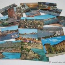 Postales: LOTE 17 POSTALES MALLORCA TURISTICA AÑOS 60. Lote 43834682