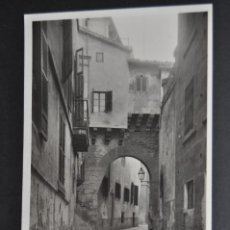 Postales: ANTIGUA FOTO POSTAL DE PALMA DE MALLORCA. ARCO DE LA ALMUDAYNA. SIN CIRCULAR. Lote 43940673