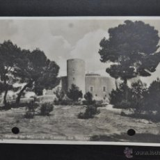 Postales: ANTIGUA POSTAL DE PALMA DE MALLORCA. CASTILLO DE BELLVER. CIRCULADA. Lote 43940713