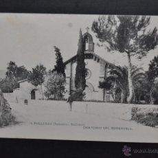 Postales: ANTIGUA POSTAL DE POLLENSA. MALLORCA. ORATORIO DEL ROSERVELL. FOT. LACOSTE. SIN CIRCULAR. Lote 43940810