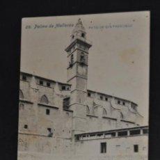 Postales: ANTIGUA POSTAL DE PALMA DE MALLORCA. PATIO DE SAN FRANCISCO. FOT. LACOSTE. SIN CIRCULAR. Lote 43940825