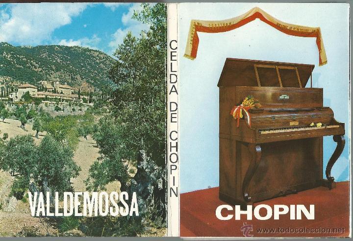 Postales: POSTALES BLOC DE 10 TARJETAS DE FREDERIC CHOPIN MALLORCA - Foto 2 - 44182347
