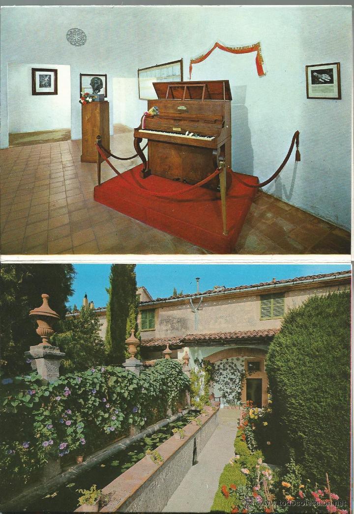Postales: POSTALES BLOC DE 10 TARJETAS DE FREDERIC CHOPIN MALLORCA - Foto 4 - 44182347