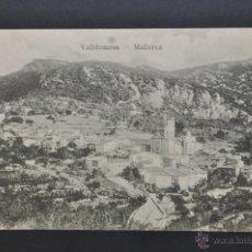 Postales: ANTIGUA POSTAL DE VALLDEMOSA. MALLORCA. VISTA GENERAL. CIRCULADA. Lote 44182496