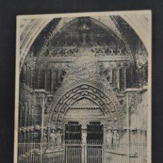 Postales: ANTIGUA POSTAL DE MALLORCA. PUERTA DE LA CATEDRAL. FOT. J. TRUYOL. SIN CIRCULAR. Lote 44200206