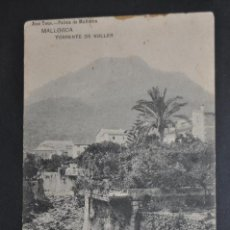 Postales: ANTIGUA POSTAL DE MALLORCA. TORRENTE DE SOLLER. FOTPIA. HAUSER Y MENET. SIN CIRCULAR. Lote 44233032