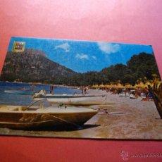 Postales: POSTAL DE MALLORCA PLAYA DE FORMENTOR . Lote 44251025