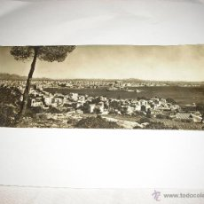 Postales: MALLORCA PALMA. VISTA GENERAL DESDE LA BONANOVA. POSTAL ALARGADA. Lote 44663541