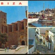 Postales: 275 - IBIZA (BALEARES).- DETALLES DE LA CIUDAD.. Lote 44669197