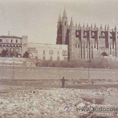 Postales: LA CATEDRAL. PALMA DE MALLORCA. POSTAL FOTOGRÁFICA 13'5X8'5, SIN CIRCULAR.. Lote 44714476
