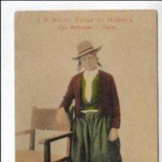 Postales: VIEJA POSTAL DE MALLORCA - TIPO MALLORQUIN - PAYES DE J.V. Nº 22. Lote 44734998