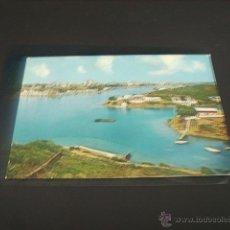 Postales: MAHON (MENORCA) VISTA PARCIAL DEL PUERTO. Lote 45096247