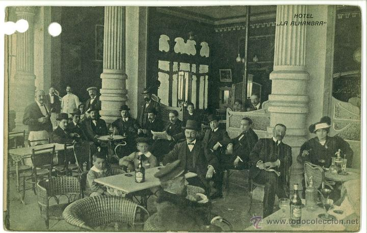 POSTAL PALMA DE MALLORCA HOTEL ALHAMBRA SIN CIRCULAR 14 X 9 CM (APROX) (Postales - España - Baleares Antigua (hasta 1939))