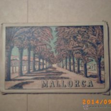 Postales: DESPLEGABLE MALLORCA - PALMA DE MALLORCA - CARTPETA POSTALES 10 -. Lote 45173371