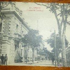 Postales: ANTIGUA POSTAL MAHON MENORCA . CUARTEL DE SANTIAGO . ANIMADA SIN CIRCULAR . Lote 45220374