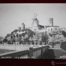 Postales: ANTIGUA FOTO POSTAL DE PALMA. MALLORCA. JACK EL NEGRO, MOLINOS. COLEC. MARTORELL. CIRCULADA. Lote 45343246