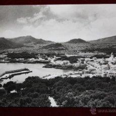 Postales: ANTIGUA FOTO POSTAL DE MALLORCA. CALA RATJADA, VISTA GENERAL. FOT. A. CAMPANYÀ Y J. PUIG. CIRCULADA. Lote 45343267
