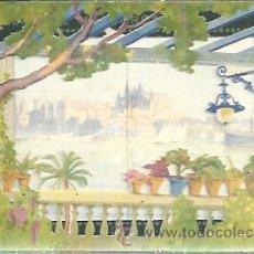 Postales: POSTAL COMPUESTA EN DIBUJO. CATEDRAL DE MALLORCA. Lote 45448961