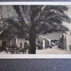 Postales: BALEARES IBIZA SAN ANTONIO ABAD CALLE MAYOR POSTAL FOTOGRÁFICA ANTIGUA. Lote 45670729