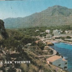 Postales: Nº 13795 POSTAL CALA SAN VICENTE MALLORCA. Lote 45690741