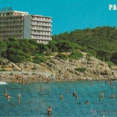 Postales: Nº 13692 POSTAL PLAYA DE TORA PAGUERA HOTEL LIDO PARK. Lote 45720109