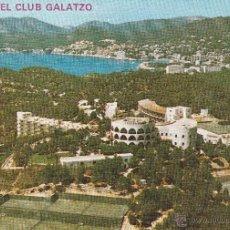 Postales: Nº 13520 POSTAL HOTEL CLUB GALATZO PAGUERA MALLORCA. Lote 45733347