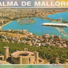 Postales: Nº 13576 POSTAL PALMA DE MALLORCA AVION SABENA. Lote 45733401