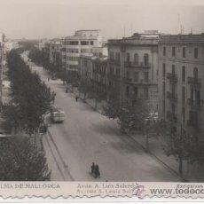 Cartes Postales: PALMA DE MALLORCA .- AVDA. A. LUIS SALVADOR.- EXCLUSIVAS ANTONIO VICH Nº 142. Lote 45753133