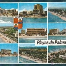 Postales: Nº 13834 POSTAL PLAYAS DE PALMA MALLORCA. Lote 45760170