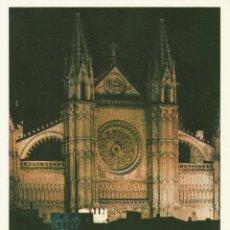 Postales: Nº 13845 POSTAL CATEDRAL DE PALMA DE MALLORCA. Lote 45760292