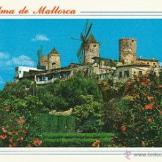 Postales: Nº 13848 POSTAL PALMA MOLINOS DEL JONQUET MALLORCA. Lote 45760297