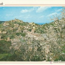Postales: Nº 13853 POSTAL DEYA ALMENDROS EN FLOR MALLORCA. Lote 45760348