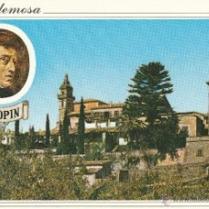 Postales: Nº 13854 POSTAL MALLORCA VALLDEMOSA CHOPIN. Lote 45760355